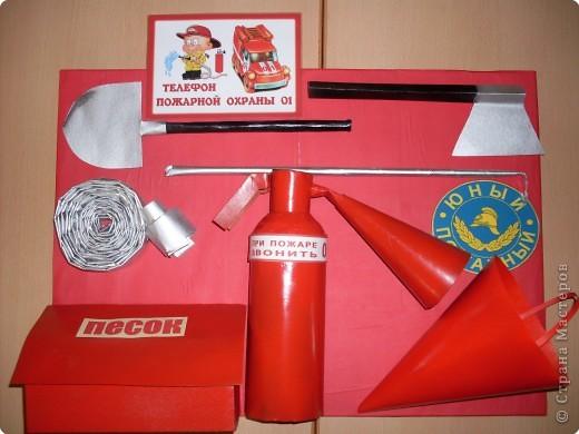 Пожарная безопасность поделка своими руками в детский сад